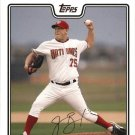 2008 Topps 133 Mike Bacsik