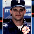 1988 Donruss 586 Bill Gullickson