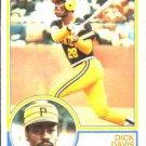 1983 Topps 667 Dick Davis
