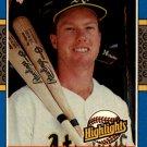 1987 Donruss Highlights 54 Mark McGwire
