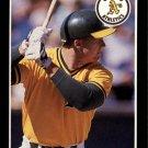 1989 Donruss Baseball's Best 43 Mark McGwire