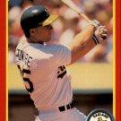 1990 Score 385 Mark McGwire