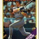 1988 Topps 33 Rob Deer