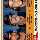 1981 Topps 451 Chris Bando RC/Tom Brennan RC/Sandy Wihtol
