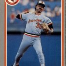 1985 Fleer 181 Dennis Martinez
