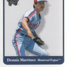 2001 Greats of the Game 29 Dennis Martinez