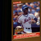 1986 Donruss Highlights 24 Darryl Strawberry