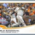 2013 Topps 67 San Francisco Giants