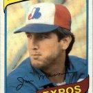 1980 Topps 497 Jim Mason