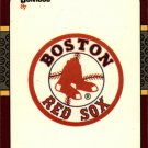 1987 Donruss Opening Day 266 Red Sox Logo