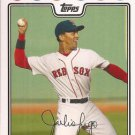 2008 Red Sox Topps BOS5 Julio Lugo