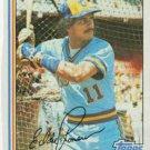 1982 Topps 408 Ed Romero