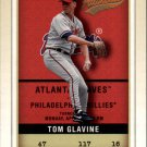 2002 Fleer Authentix 117 Tom Glavine
