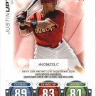 2010 Topps Update Attax Code Cards 31 Justin Upton