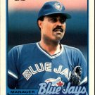 1989 Topps Traded 36T Cito Gaston MG