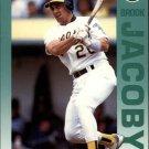 1992 Fleer 260 Brook Jacoby