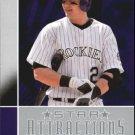 2008 Upper Deck Star Attractions SA10 Troy Tulowitzki