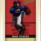 2002 Fleer Authentix 137 Mark Teixeira FS