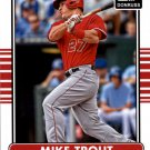 2015 Donruss 100A Mike Trout
