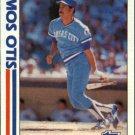1982 Topps 726 Amos Otis IA