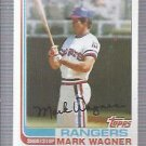 1982 Topps 443 Mark Wagner