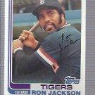 1982 Topps 488 Ron Jackson