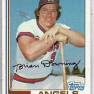 1982 Topps 158 Brian Downing