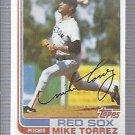 1982 Topps 225 Mike Torrez