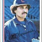 1982 Topps 23 Willie Hernandez