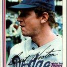 1982 Topps 315 Burt Hooton