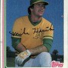 1982 Topps 318 Mike Heath