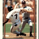 1992 Topps 162 Paul Faries