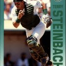 1992 Fleer 267 Terry Steinbach