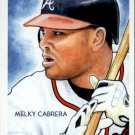 2010 Topps National Chicle 126 Melky Cabrera
