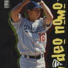 1996 Collector's Choice Nomo Scrapbook 4 Hideo Nomo