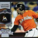 2013 Topps Update Chasing History CH141 Marcell Ozuna