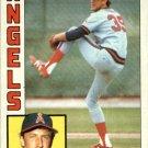 1984 Topps 499 Mike Witt