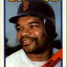1988 Topps 628 Dave Henderson
