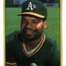 1990 Bowman 458 Dave Henderson