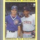 1991 Fleer 709 Ryne Sandberg/Cecil Fielder