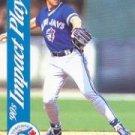 1992 Score Impact Players 72 Eddie Zosky