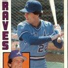 1984 Topps 77 Brett Butler