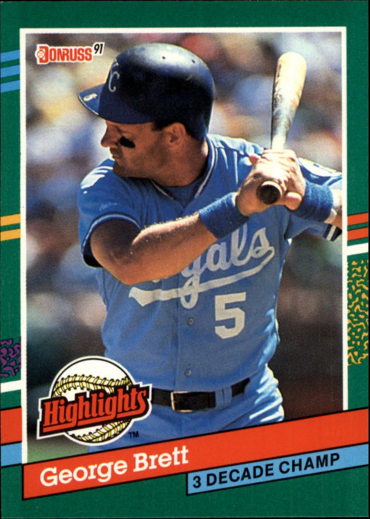 1991 Donruss Bonus Cards #BC19 George Brett