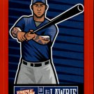 2013 Triple Play Stickers Red 26 Brett Lawrie
