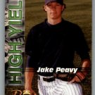 2001 Royal Rookies Futures High Yield HY5 Jake Peavy