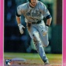 2015 Topps Chrome Pink Refractors 132 Cory Spangenberg