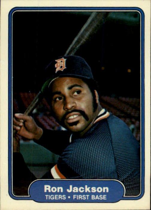 1982 Fleer 269 Ron Jackson