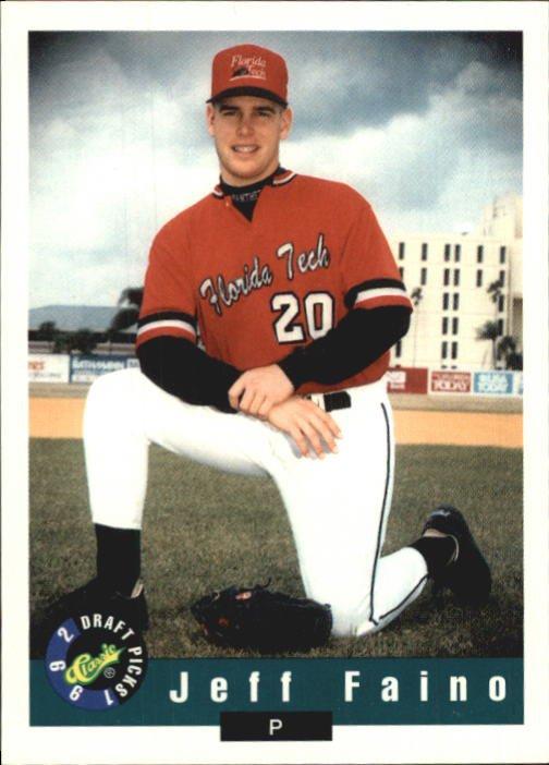 1992 Classic Draft Picks #109 Jeff Faino