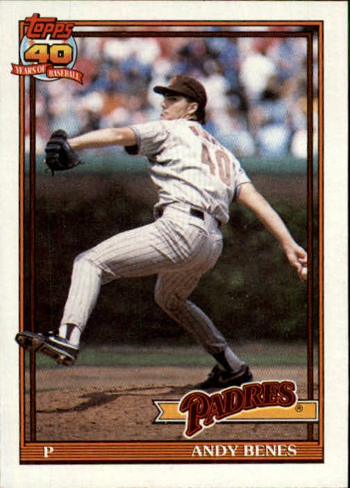 1991 Topps 307 Andy Benes