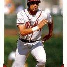 1993 Topps #170 David Justice ( Baseball Cards )